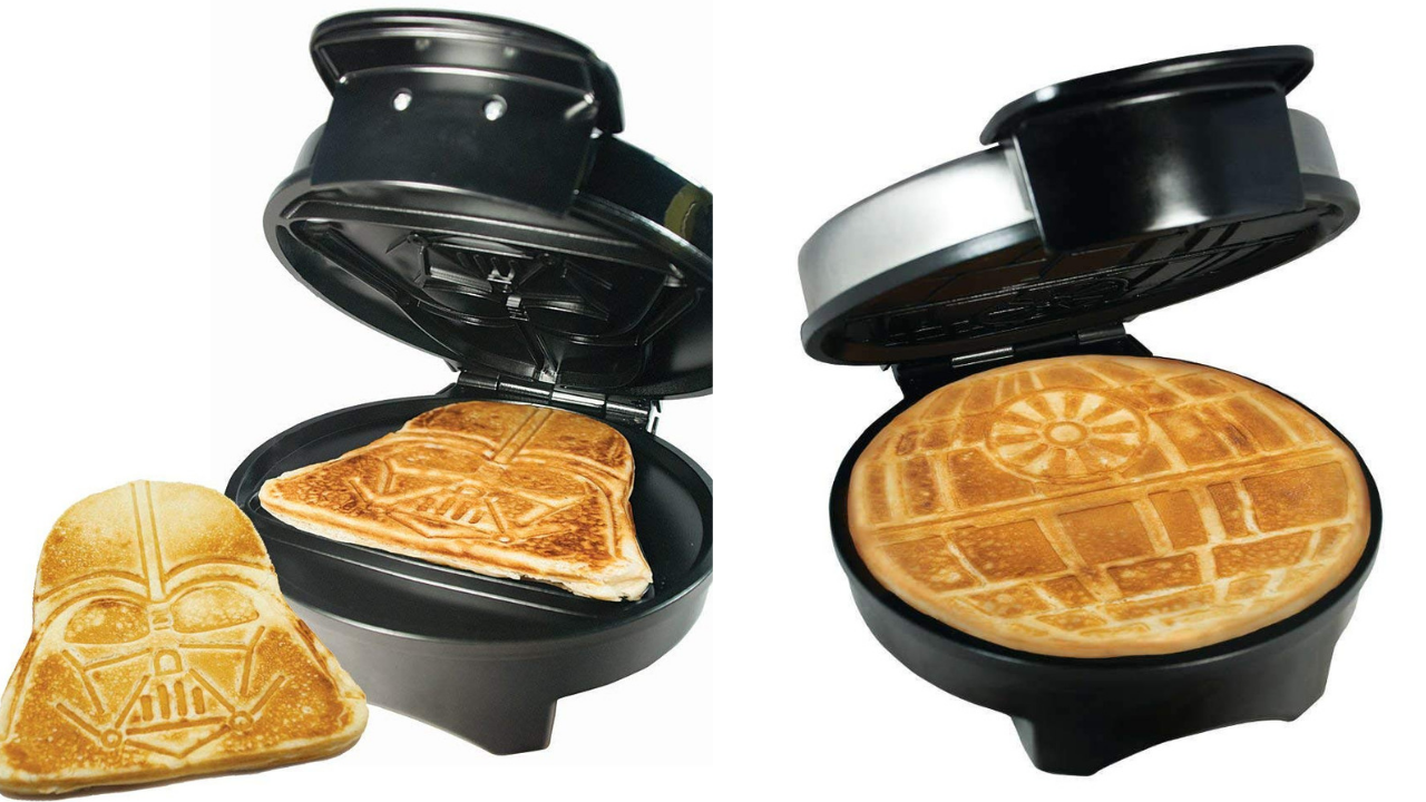 Star Wars Waffle Makers